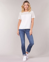 Abbigliamento Donna Jeans dritti G-Star Raw MIDGE SADDLE MID STRAIGHT Blu