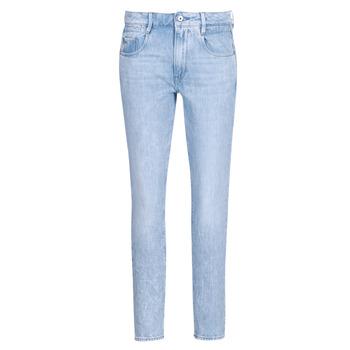 Abbigliamento Donna Jeans dritti G-Star Raw RADAR MID BOYFRIEND TAPERED Blu / Light
