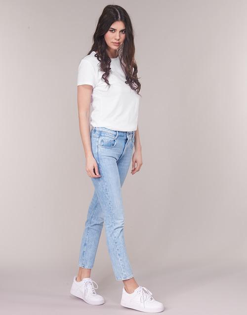 6500 Abbigliamento Radar Gratuita Boyfriend Jeans Consegna star Donna Dritti Mid G Raw Tapered BluLight tsxrhQdC