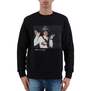 Abbigliamento Uomo Felpe Ko Samui | MICK JAGGER FELPA DA UOMO NERO | KSU_JM402CROWNED_BLK nero