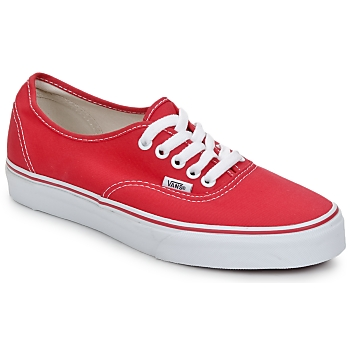 Scarpe Sneakers basse Vans AUTHENTIC Rosso