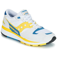 Scarpe Uomo Sneakers basse Saucony Azura Bianco / Giallo / Blu
