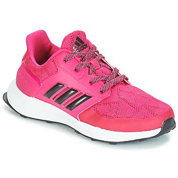Scarpe Bambina Running / Trail adidas Performance RAPIDARUN K Rosa