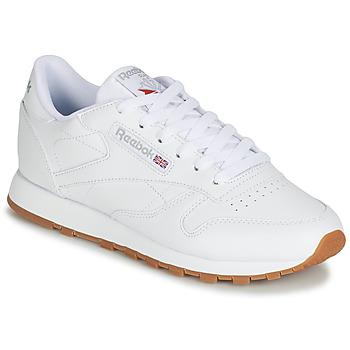 Scarpe Donna Sneakers basse Reebok Classic CL LTHR Bianco