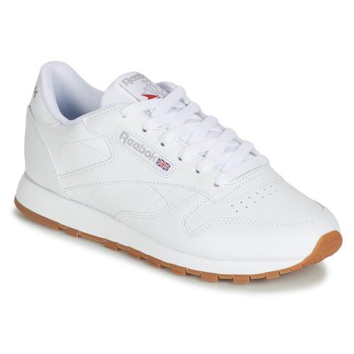 Sneakers Classic Consegna Basse Bianco Reebok Scarpe Lthr 6300 Gratuita Donna Cl c3Tl1FKJ