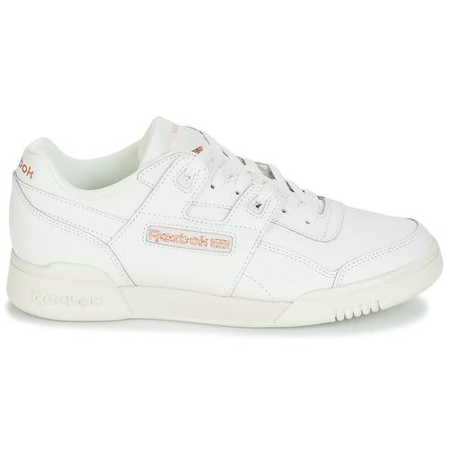 Reebok Sneakers Lo Basse Workout Classic Bianco Plus LzVjUMGqSp