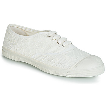 Scarpe Donna Sneakers basse Bensimon TENNIS BRODERIE ANGLAISE Bianco