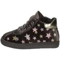 Scarpe Bambina Sneakers alte Asso 69702 BLU NOTTE