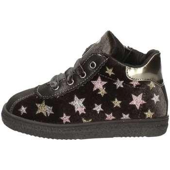 0eb27bd8d3 Scarpe Bambina Sneakers alte Asso 69702 BLU NOTTE
