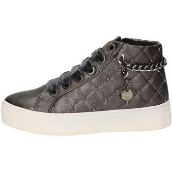 Scarpe Bambina Sneakers alte Asso AG-125 GRIGIO