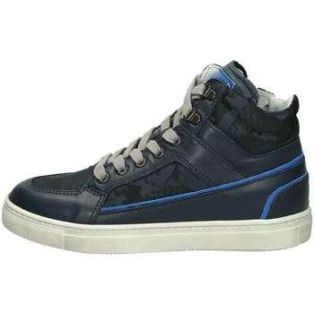 Scarpe Unisex bambino Sneakers alte Nero Giardini A833200M Sneakers Alte Bambino Blu Blu