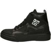Scarpe Donna Sneakers alte Cr03 001D VERSINE 5 Nero
