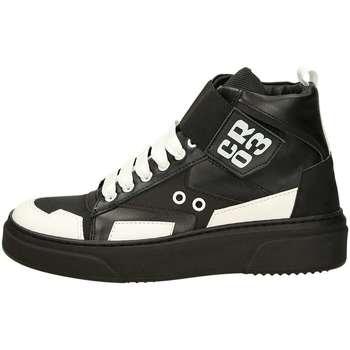 Scarpe Donna Sneakers alte Cr03 001 VERSIONE 2 Nero Bianco