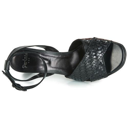 7150 Perlato Consegna Scarpe Nero Donna Gratuita Dominika Sandali OiXZuPk