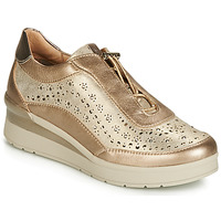 Scarpe Donna Sneakers basse Stonefly CREAM 15 LAMINATED LTH Oro