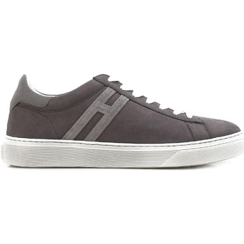Scarpe Uomo Sneakers basse Hogan Sneakers  uomo in pelle scamosciata grigio