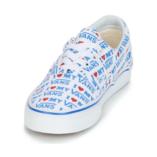 Era Scarpe Donna Vans Consegna Sneakers BiancoBlu Gratuita Basse 3750 LUSzMqpGV