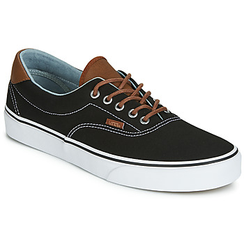 scarpe uomo vans basse nere