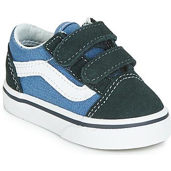 Scarpe Bambino Sneakers basse Vans OLD SKOOL V Marine