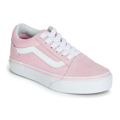 scarpe bambina vans rosa
