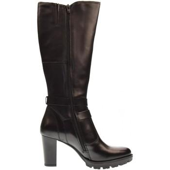 Scarpe Donna Stivali Valleverde scarpe donna stivali 46501 NERO Pelle