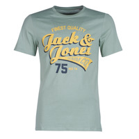 Abbigliamento Uomo T-shirt maniche corte Jack & Jones JJELOGO Verde