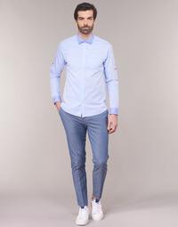 Abbigliamento Uomo Chino Scotch & Soda RALSTONO Blu