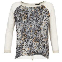 Abbigliamento Donna Maglioni One Step TWIST Ecru / Grigio