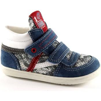 Scarpe Bambino Scarpette neonato Primigi 30322 azzurro scarpe bambino strappi mid primi passi Blu