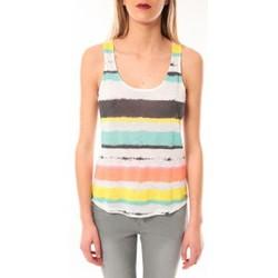 Abbigliamento Donna Top / T-shirt senza maniche Little Marcel Débardeur Tocada E15FTAN0217 Blanc Bianco