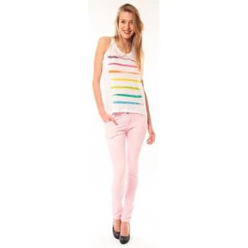 Abbigliamento Donna Top / T-shirt senza maniche Little Marcel Débardeur Dacola E15FTAN0118 Blanc Bianco