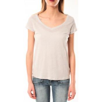 Abbigliamento Donna T-shirt maniche corte Little Marcel T-Shirt Talin E15FTSS0116 Gris Moyen Grigio