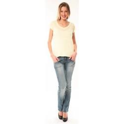 Abbigliamento Donna T-shirt maniche corte Little Marcel T-Shirt Talin E15FTSS0116 Jaune Giallo