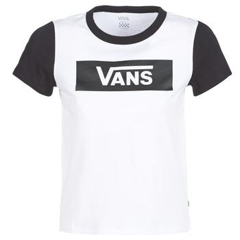 Abbigliamento Donna T-shirt maniche corte Vans V TANGLE RANGE RINGER Bianco