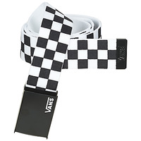 Accessori Cinture Vans LONG DEPSTER WEB BELT Nero / Bianco
