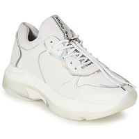Scarpe Donna Sneakers basse Bronx BAISLEY Bianco / Argento
