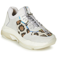 Scarpe Donna Sneakers basse Bronx BAISLEY Bianco / Leopard