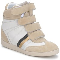 Scarpe Donna Sneakers basse Serafini MANATHAN SCRATCH Bianco/ beige / blu