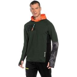 Abbigliamento Uomo Felpe Reebok Sport DT Stretch Oth Z Verde, Arancione