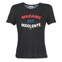 Abbigliamento Donna T-shirt maniche corte Kaporal FACTO Nero