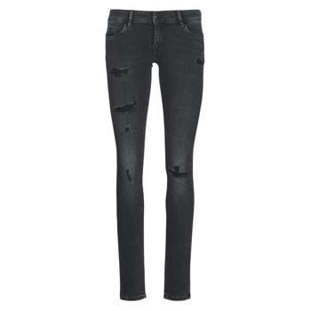 Abbigliamento Donna Jeans slim Kaporal LOKA Nero