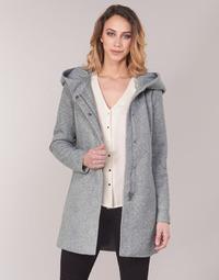 Abbigliamento Donna Cappotti Vero Moda VMVERODONA Grigio
