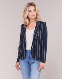 Abbigliamento Donna Giacche / Blazer Vero Moda VMANNA Bianco / Marine