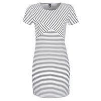 Abbigliamento Donna Abiti corti Vero Moda VMVIGGA Bianco / Nero
