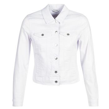 Abbigliamento Donna Giacche in jeans Vero Moda VMHOT SOYA Bianco