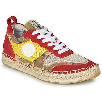 Scarpe Donna Sneakers basse Pataugas MARCIA Giallo / Rosso