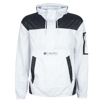 Abbigliamento Uomo giacca a vento Columbia CHALLENGER WINDBREAKER Bianco / Nero