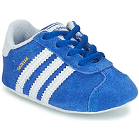 Scarpe Unisex bambino Sneakers basse adidas Originals GAZELLE CRIB Blu