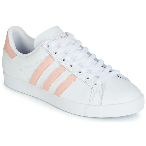 Scarpe Donna Sneakers basse adidas Originals COURSTAR Bianco / Rosa