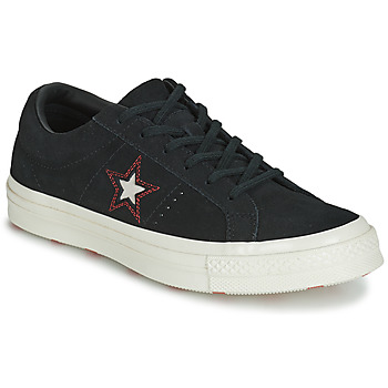 Scarpe Donna Sneakers basse Converse ONE STAR LOVE IN THE DETAILS SUEDE OX Nero